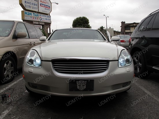 Lexus - SC - 430 - LED - daytime - running - lights - 1